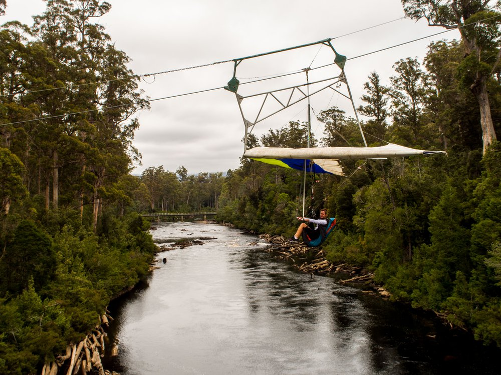 Eagle Hang Glider - Tahune Adventures Tasmania